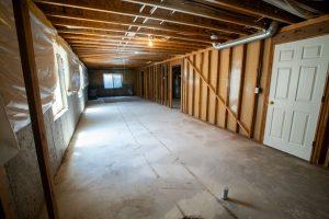 fixing up basement